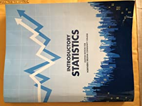 Introductory Statistics Custom Edition for Northern Virginia Community College 9th Ed.