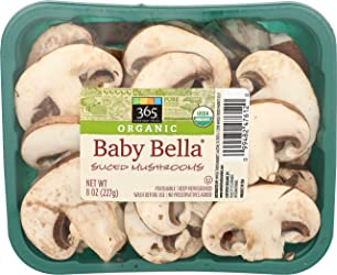 365 Everyday Value Organic Baby Bella Sliced Mushrooms, 8 oz