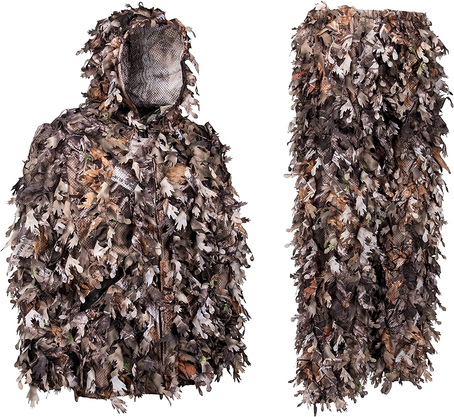 North Mountain Gear Ghillie Suit 3D Discount is also underway Hunting - Leafy Max 49% OFF Camo