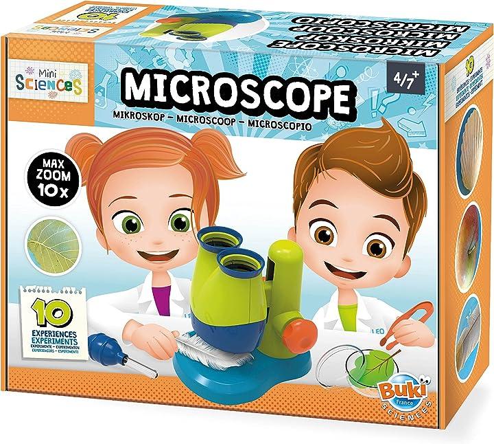 Microscopio per bambini buki france- mini scienza microscopio, 9003