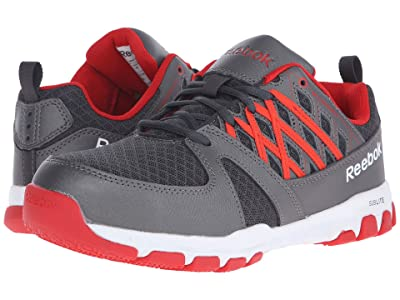Reebok Work Sublite Work (Grey/Red) Men
