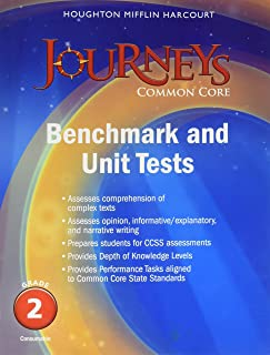 Journeys: Benchmark Tests and Unit Tests Consumable Grade 2 Grade 2;Journeys
