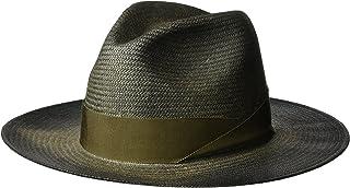 Bailey of Hollywood Mens 63269BH Maddow Fedora Trilby Hat Fedora - Black