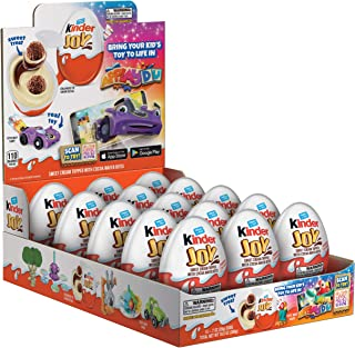 Kinder JOY Eggs, 15 Count, Individually Wrapped Bulk Chocolate Candy Eggs With Toys Inside & Applaydu: Kids Games by Kinde...