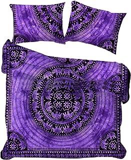 Mandala Tie Dye Funda Nórdica Colcha Bohemio Ropa de Cama Manta Cubierta Indian Flower Doona Conjuntos Cubre Decoración Dormitorio