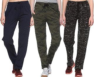 SHAUN Women's Regular Fit Trackpants (Pack of 3) (B07STNRGTX_Multicolored_XXX-Large)
