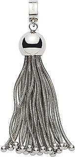 JEWELS BY LEONARDO DARLIN'S dameshanger Frangia, roestvrij staal in kwastlook met Maxi-Clip, CLIP & MIX-systeem, maat (B/...