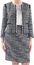 Tahari by ASL Women's Boucle Sequin Skirt