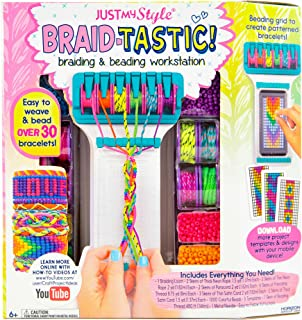 Just My Style Braidtastic Art and Craft Kit by Horizon Group USA