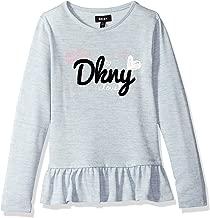 DKNY Girls' Big Lace Hem Hachi Top