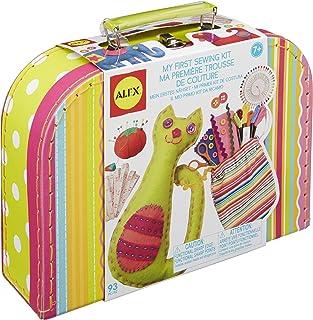 届いてすぐに創作できる ソーイングセット 《 マイファーストソーインングキット ALEX社 》 小学生が喜ぶ 女の子へのおもちゃのプレゼント 裁縫キット 【日本語説明書付正規品】