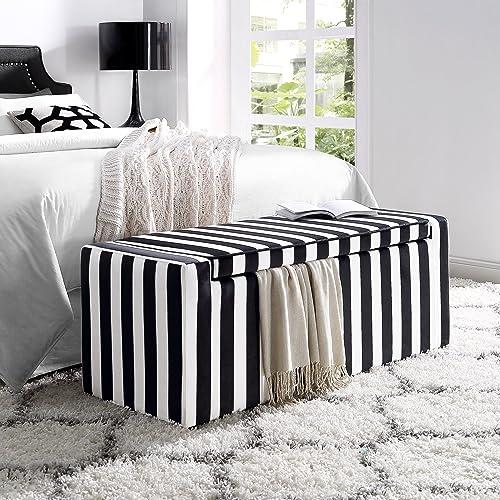 Black and White Bench: Amazon.com