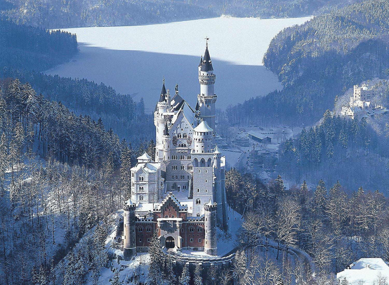 Puzzle - The Castle of Neuschwanstein, 4,000 Pieces Jigsaw Puzzle