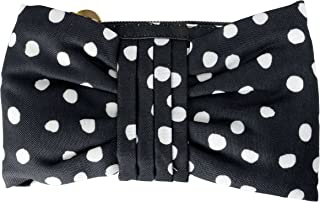Red Valentino Women's Polka Dots Canvas Clutch Bag