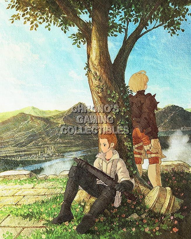 Final Fantasy CGC Huge Poster Tactics PS1 PS2 PSP Vita Nintendo DS GBA - FTA006 (24