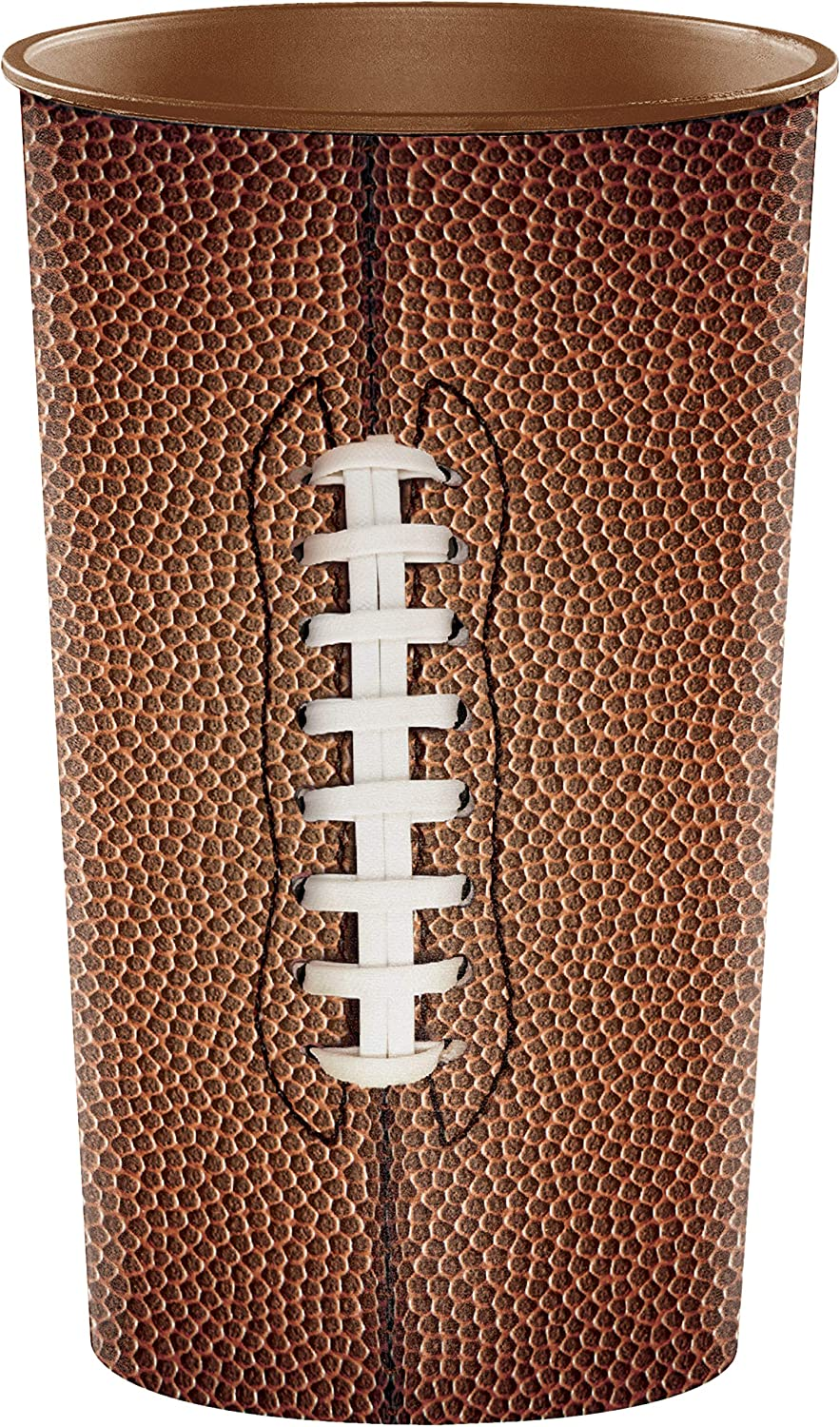 Creative Converting New Time sale products world's highest quality popular 20-Count Plastic Cups Football 22-Ounce