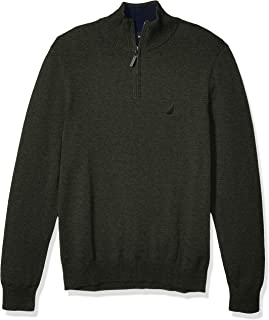 Men's Classic Fit Quarter Zip Sweater