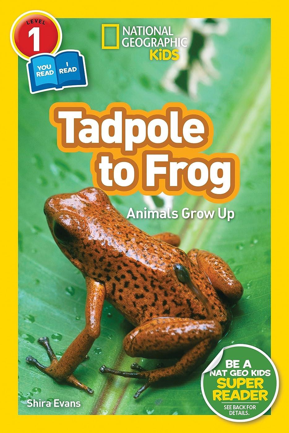 示す立法コマースNational Geographic Readers: Tadpole to Frog (L1/Co-reader) (English Edition)
