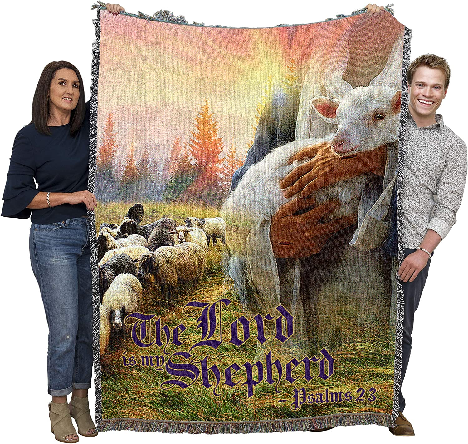 The Lord is My Quantity limited Shepherd - with Scriptures Free shipping New 23 Jesus Lam Psalm