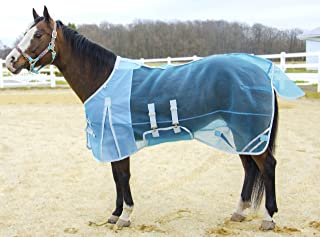 Derby Originals Mesh Belly Band Reflective Trim Horse Fly Sheet