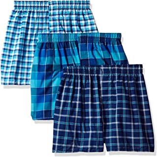 Hanes Big Boys Ultimate Tartan Boxer