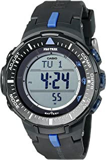 Men's PRG-300-1A2CR Pro Trek Triple-Sensor Tough Solar Black Digital Watch