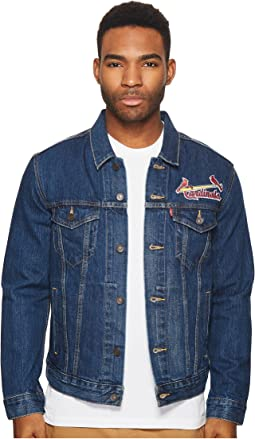 Levi's® Mens Saint Louis Cardinals Denim Trucker