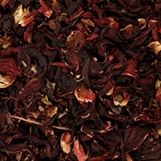 The Spice Lab No. 219 - Whole Hibiscus Flowers - Kosher Gluten-Free Non-GMO All Natural Spice - 4 oz Resealable Bag