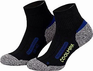 2 pares de calcetines de última tecnología - Para actividades al aire libre - Coolmax - Varios colores