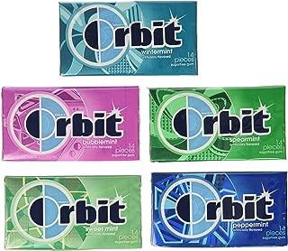 Wrigley's Orbit 20 Pack - 14 Piece Packages - Sugar Free Gum - Variety Box