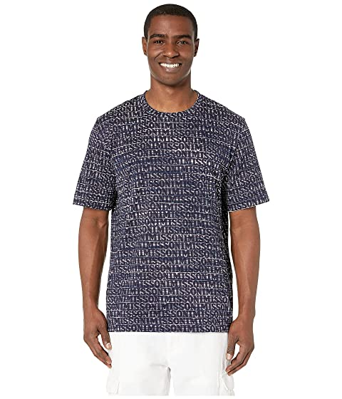 Missoni Cotton Jersey Printed Fiammato T-Shirt
