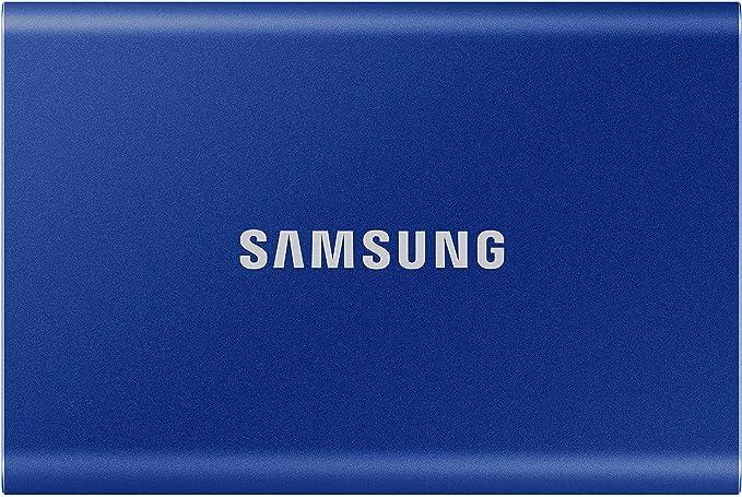5649 opinioni per Samsung Memorie T7 MU-PC500H SSD Esterno Portatile da 500 GB, USB 3.2 Gen 2, 10