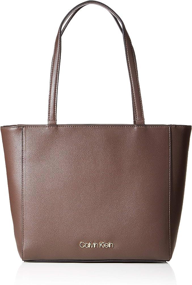 Calvin klein, tote,borsa per donna,in pelle sintetica K60K606665