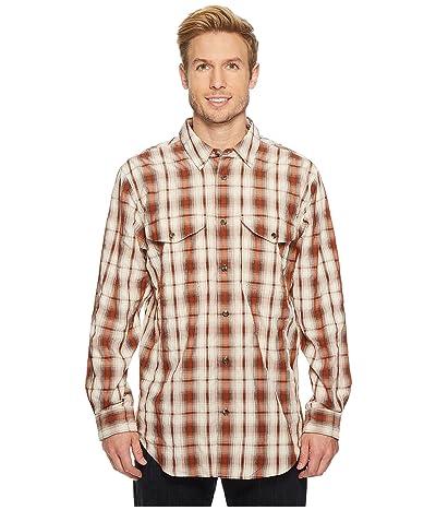Filson Twin Lakes Sports Shirt (Rust/Cream) Men