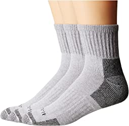 Carhartt Cotton Quarter Work Socks 3-Pack