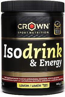 comprar comparacion Crown Sport Nutrition Bebida Isotónica - Isotónico en polvo con carbohidratos, sales y aminoácidos. Certificación antidopi...