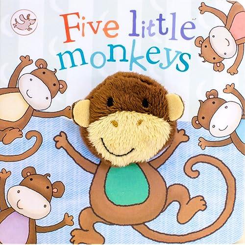 Five Little Monkeys Finger Puppet Book (Little Learners)
