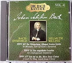 Bach Cantatas 24 167 & 177. Soloists Incl. Auger Hamari Watts & Schone. Stuttgart's Gachin