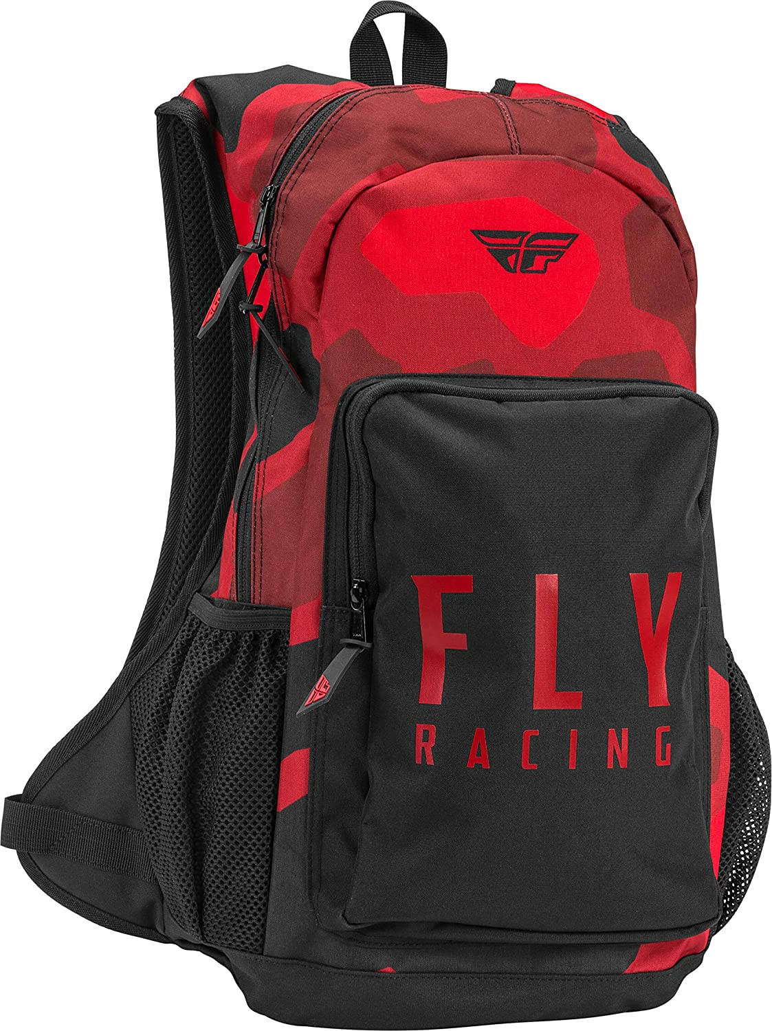 Fly Racing 2021 Jump Pack (RED/Black CAMO): Automotive