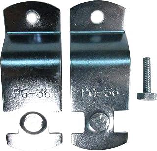 南電機 パイプハンガーサドル PG-36 電気亜鉛メッキ仕上げ (20個/箱)