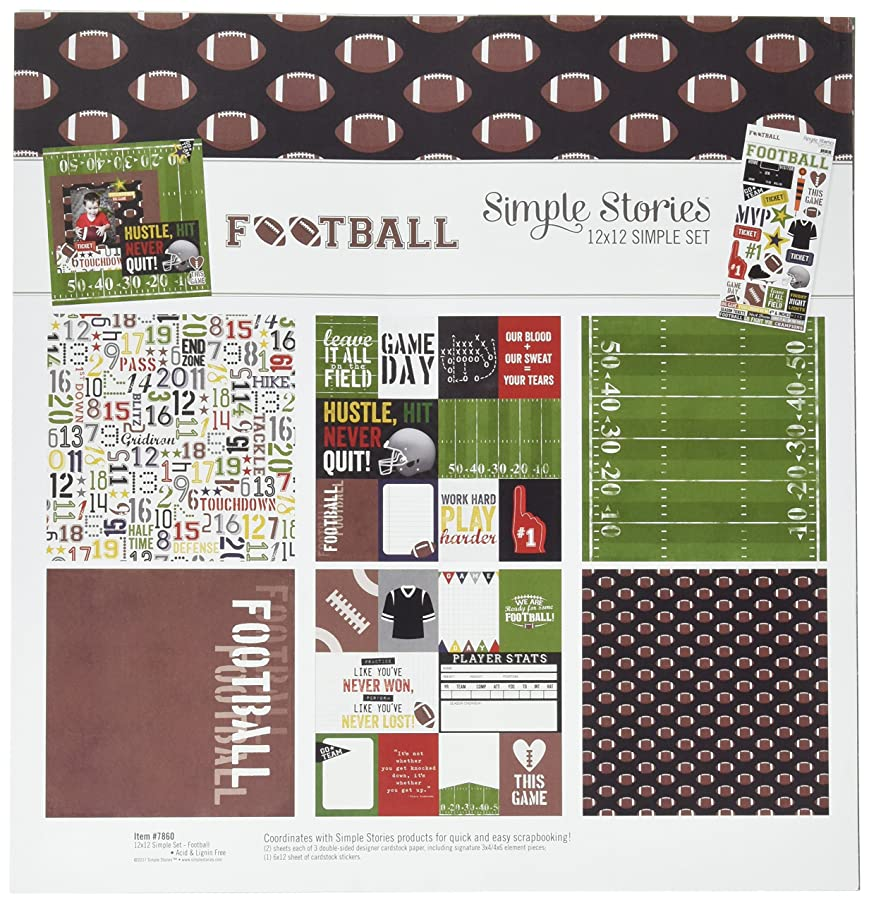 Simple Stories Football 12x12 Collection Kit