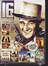 16 Movies - 8 Action & 8 Western