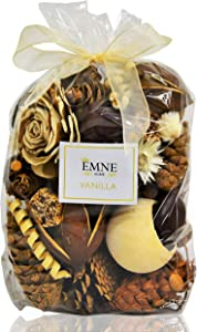 EMNE HOME Vanilla Potpourri Bag   Beautiful Natural Botanicals from Around The World fragranced with Our Rich Vanilla Scent   12oz Bag  Hand Made in The USA