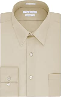Men's Shirt Regular Fit Poplin Solid
