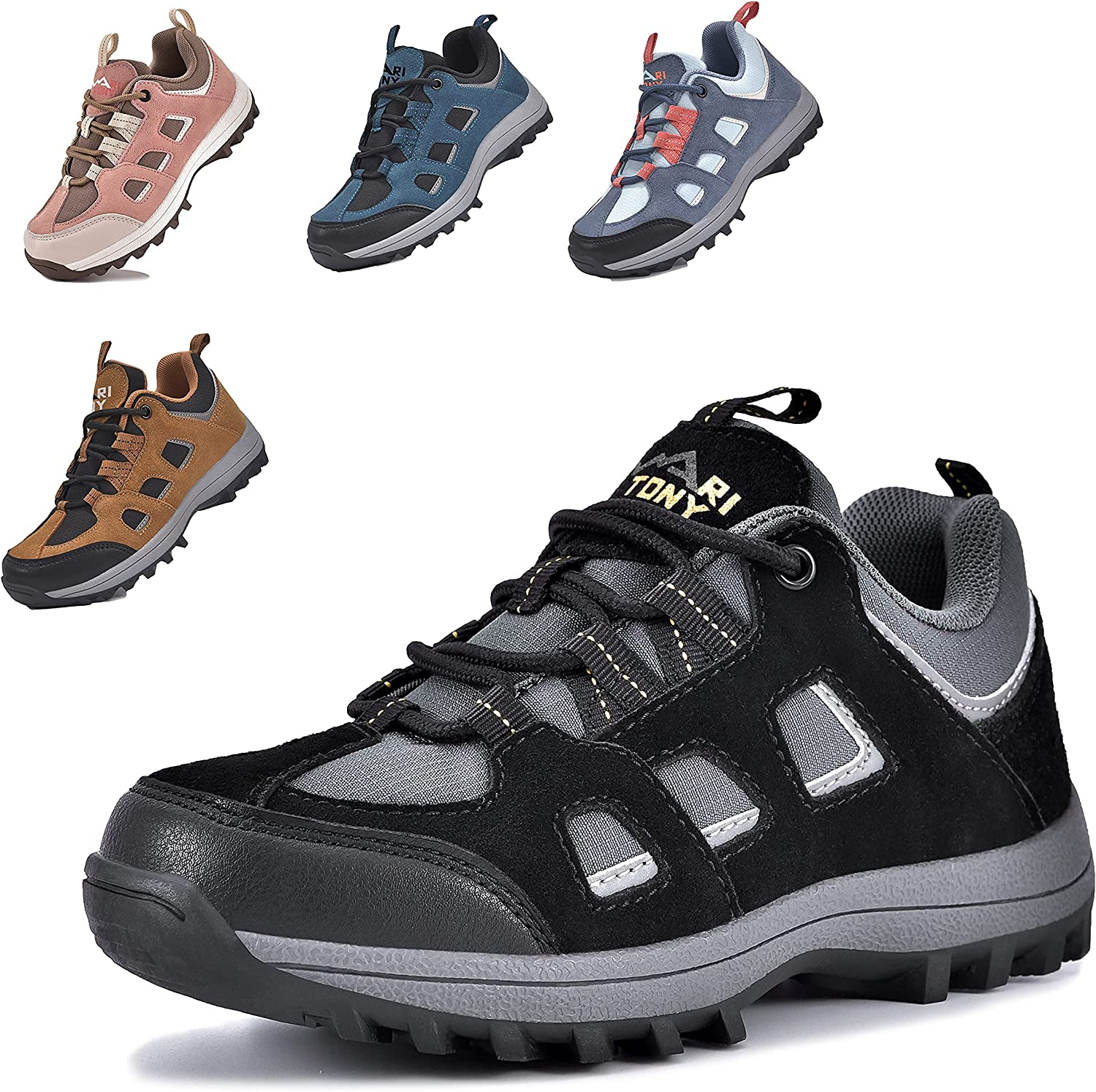 MARITONY Unisex-Child Special sale item Hiking Shoes Max 70% OFF for Boys Girls Sneakers Kids