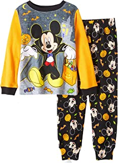 Mickey Mouse Little Boys Toddler Halloween Pajama Set