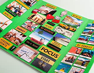 Mira VISION BOARD Kit - Plan Your Life - Dream Board - A Unique Planner & Organizer- Law of Attraction Tool - MOTIVATE & ...