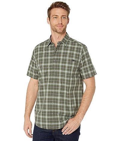 5.11 Tactical Hunter Plaid Short Sleeve Shirt (Flint Plaid) Men