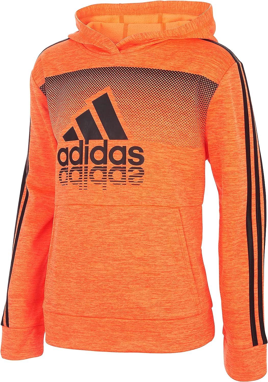adidas Boys' Plus Size Fade Horizon Pullover Hoodie
