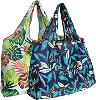 Wrapables Reusable Shopping Bags Large Paradise